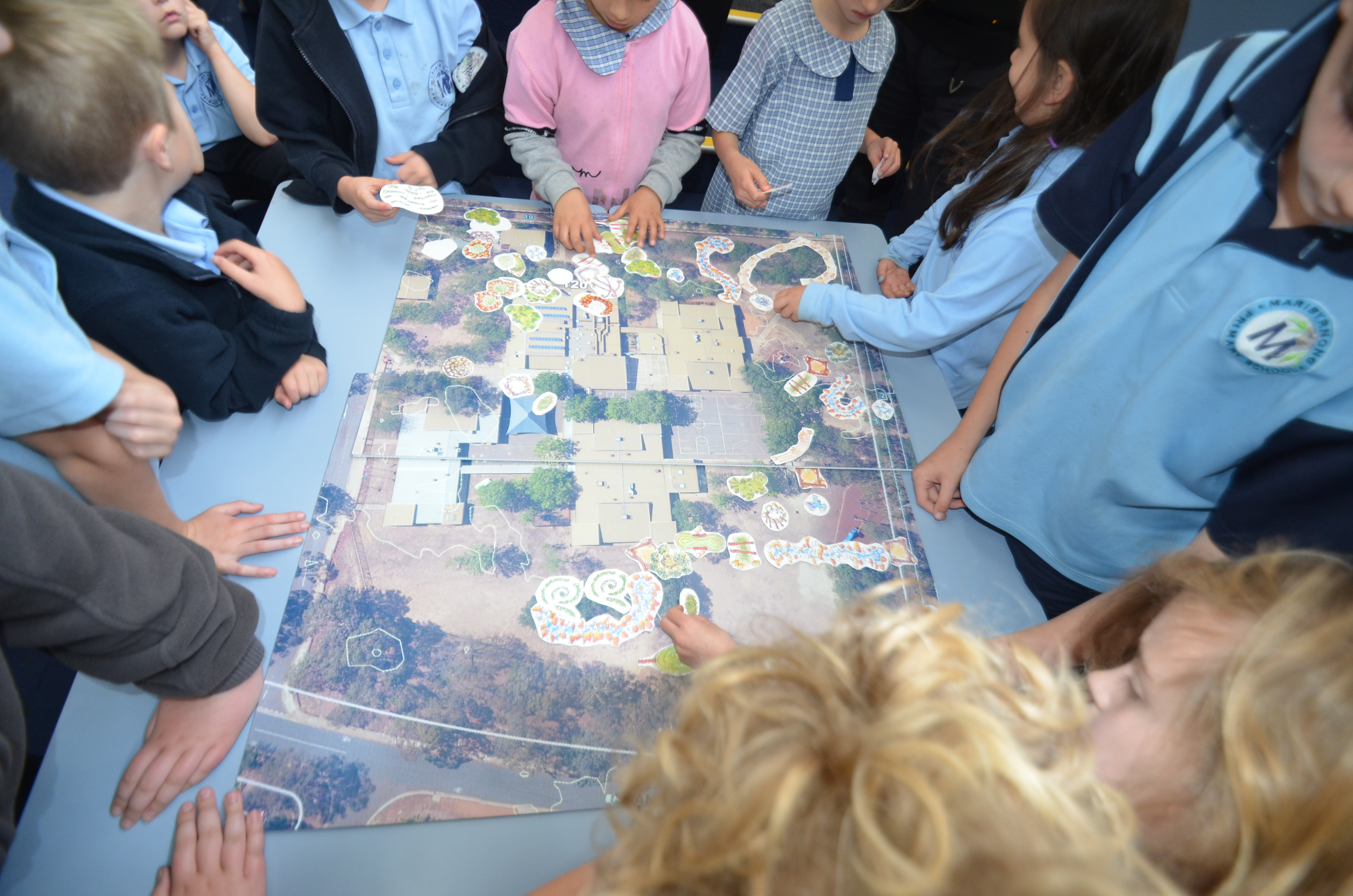 Maribyrnong Masterplan Workshops with Students, Parents and Staff